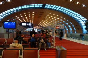 RUAN y aeropuerto De Gaulle (a Londres) 2014